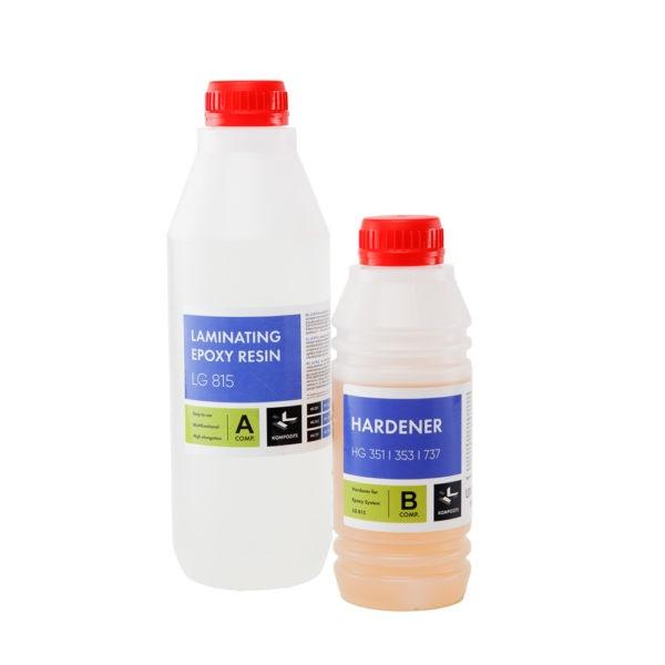 Epoksīda sveķi ar cietinātāju (20 min), 1,35 kg