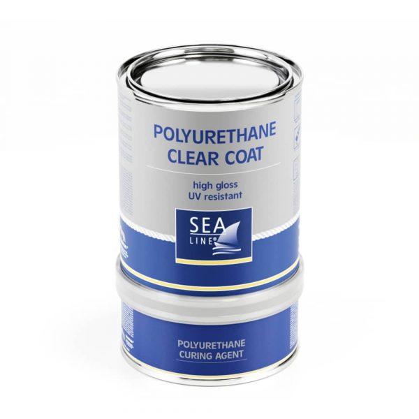 Poliuretāna laka Sea-Line, 750 ml