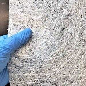 Stikla šķiedras mats 300 g/m2 mērogs